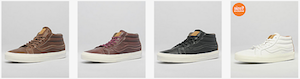 the drop date vans sk8 mid cali range p