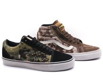 614a111edf53ed VANS SYNDICATE X DEFCON SK8 HI AND OLD SKOOL S