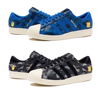 huge selection of b3c75 3321d UNDEFEATED X BAPE X ADIDAS CONSORTIUM SS80V PACK PART 2